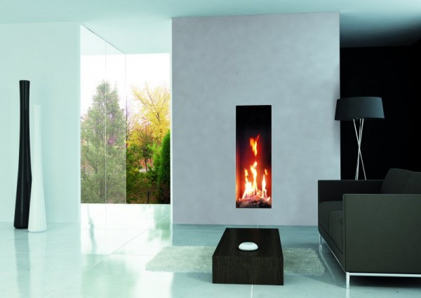 Roma Tall Balanced Flue Fire