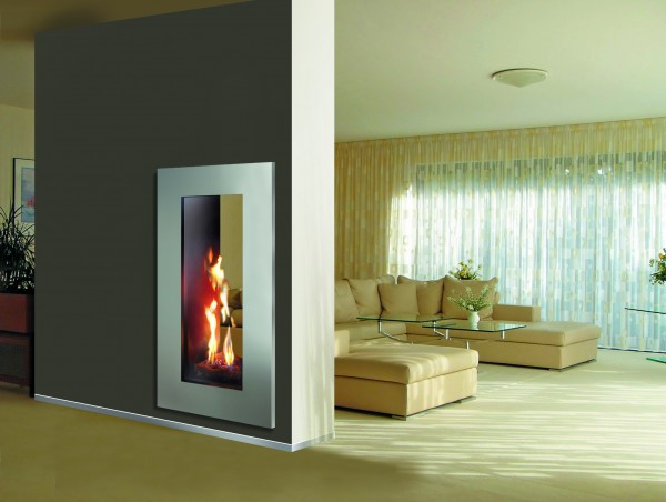 Roma 50 tall balanced flue gas fire