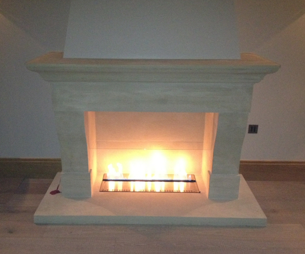 Traditional Ribbon Gas Fire Image