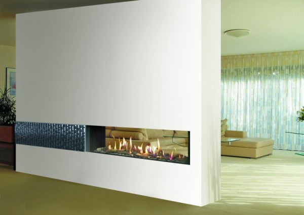 Venezia 130 tunnel balanced flue gas fire