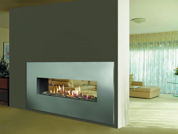 Double Sided Venezia 130 Balanced Flue