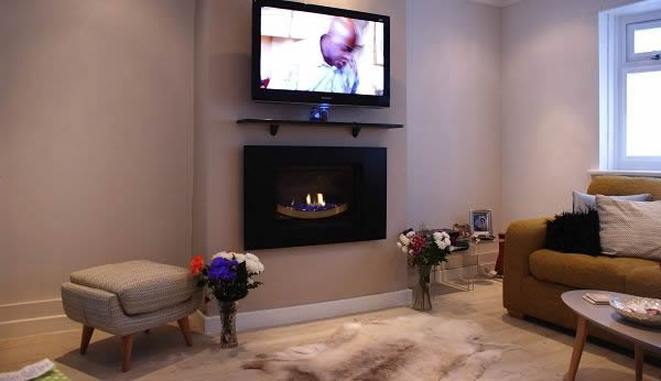 Blade High Efficiency Gas Fire Image