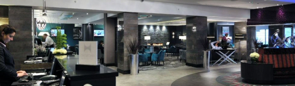 Doubletree Reception- Customer Installation