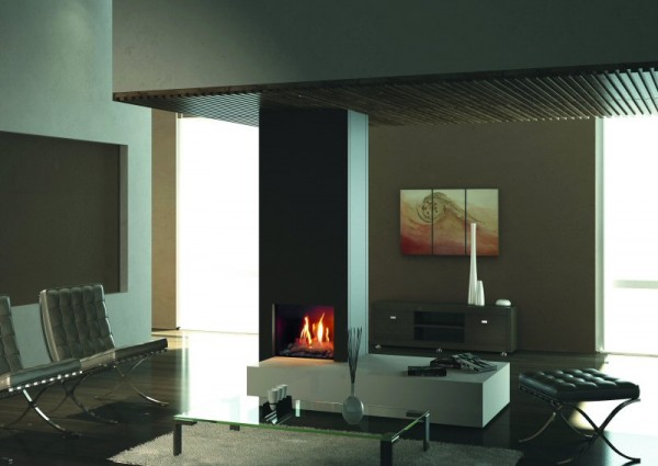 Firenze Balanced Flue Gas Fire