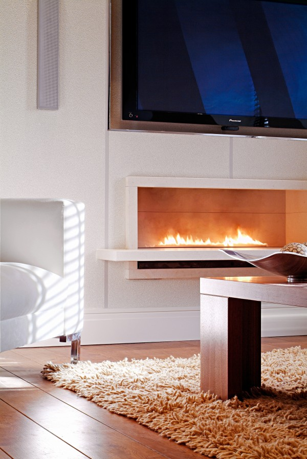 Fire Break Gas Fire
