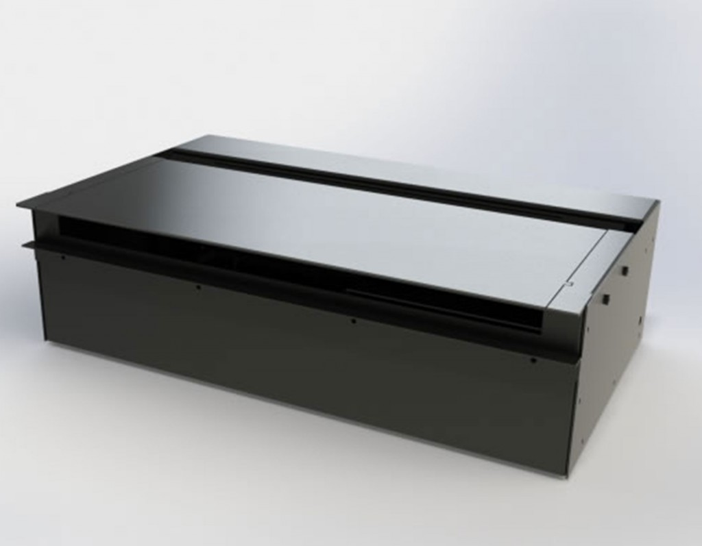 FR520 Stainless Steel Box Fire