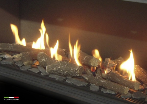 Balanced Flue Fires Log Decor