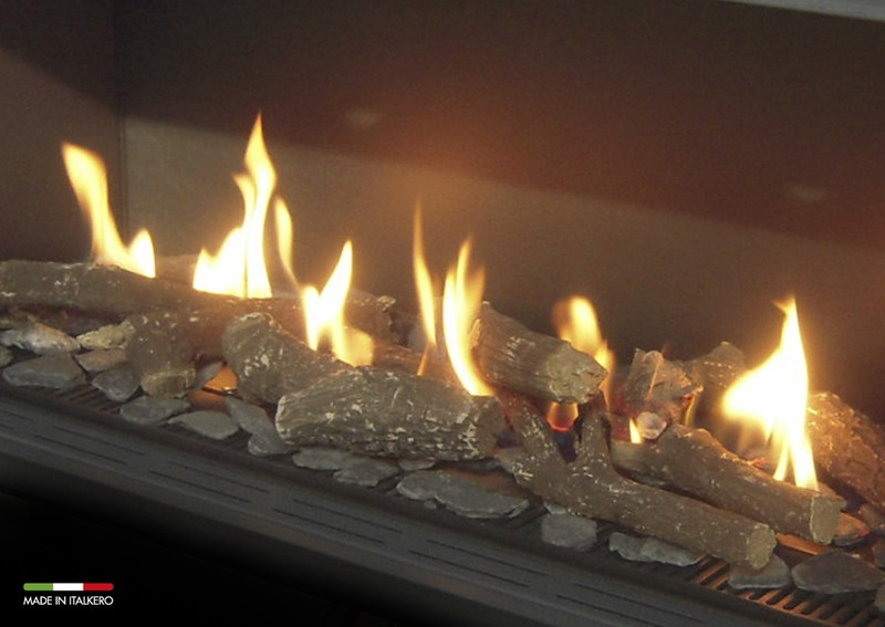 Fire Grate 373mm Gas Fire Burner Tray