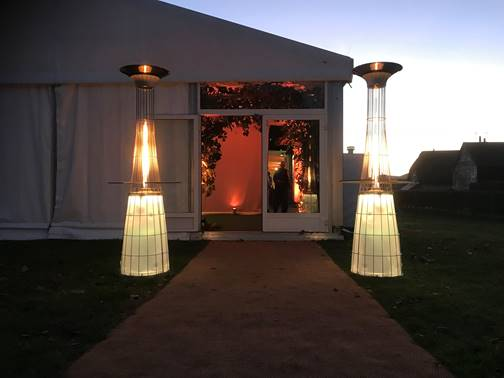 Customer Image of Lightfire Patio Heater