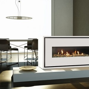 Milano 130Q Easy Install Power Flue Gas Fire High Efficiency