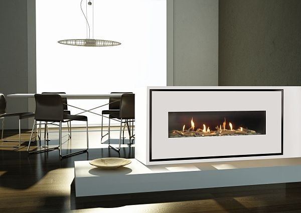 Milano 130Q Easy Install Gas Fire Image