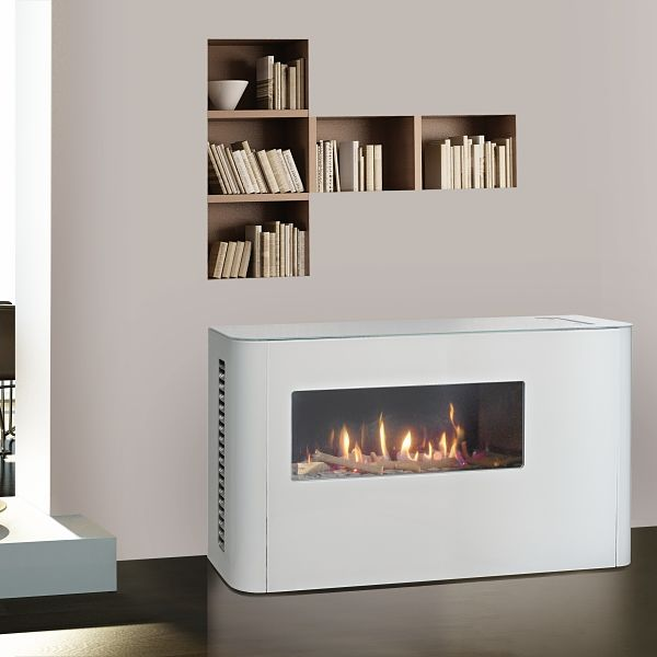 Milano 80 With Casing Gas Fire Image