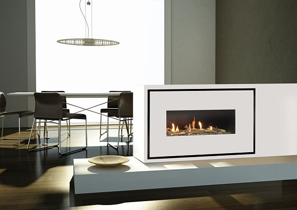 Milano 90Q Easy Install Gas Fire Image
