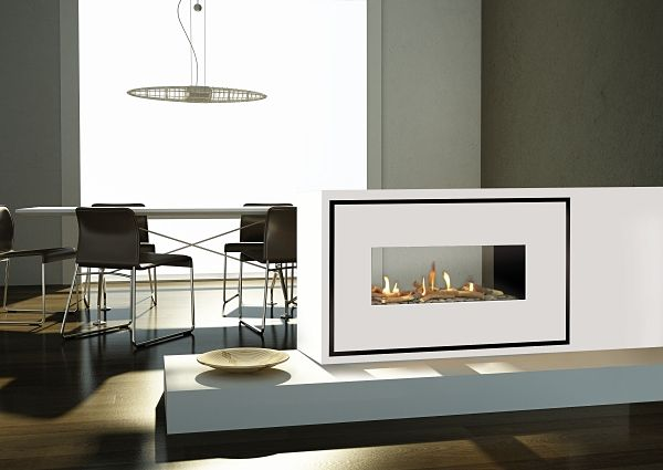 Milano 90Q Tunnel fireplace Image