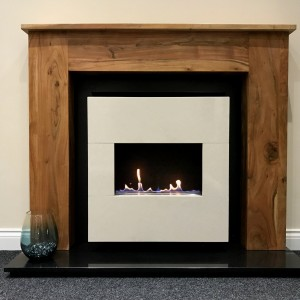 Bonita Traditional Flueless Fireplace Suite