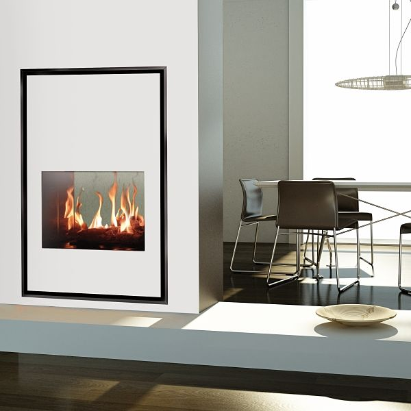 Torino 70Q Tunnel Gas Fireplace Image