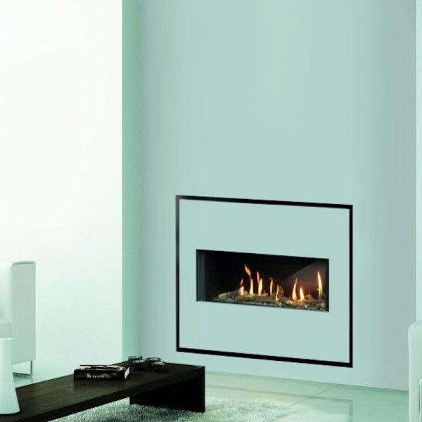 Venezia 90 Easy Install Balanced Flue Gas Fire