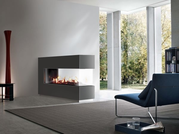Venezia 130 Peninsular 3 Sided Balanced Flue Gas Fire