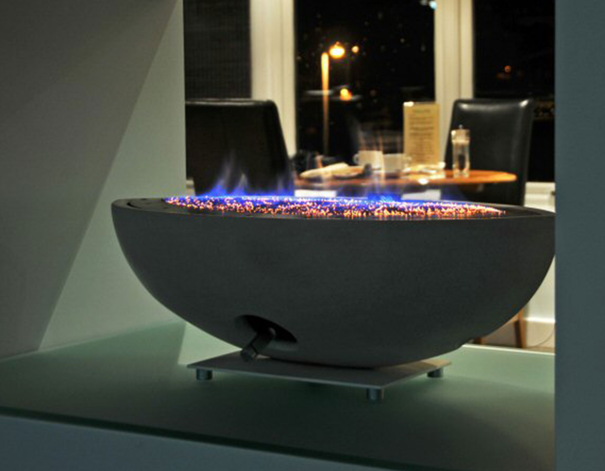 Double Sided Gas Fire Bowl Image