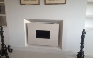 CVO Cream Recessed Moderno Installation