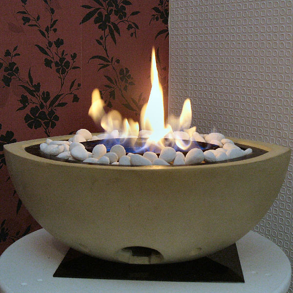 Gel Fire Bowl, Outdoor Stone Firebowl – Image Gallery