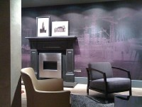 CVO Auchen Install Stainless Steel Wall Mounted Fire