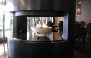 CVO Bespoke Fire Bowl Installation Gallery