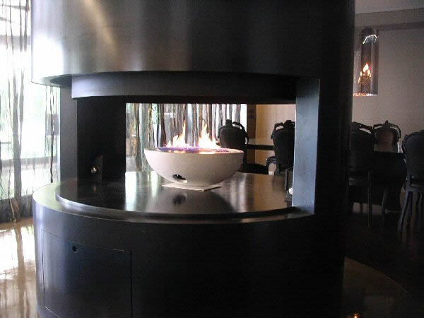 Gas Fire Bowl, Bespoke Installations, Contemporary Designer Fireplaces, CVO Fire UK