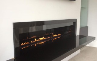 CVO Black Granite Firebreak Installation