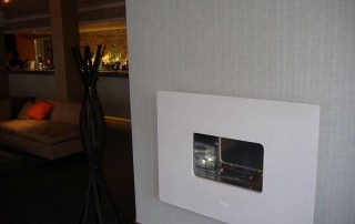 CVO Flueless Bosco Hotel Wall Mounted Fire Viewing Location