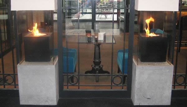 CUBE Contemporary Gas Fire – Image Gallery