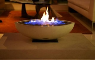 CVO Large Gas Firebowl Install