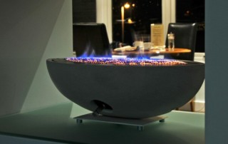 CVO Large Oval Gas Firebowl Gallery