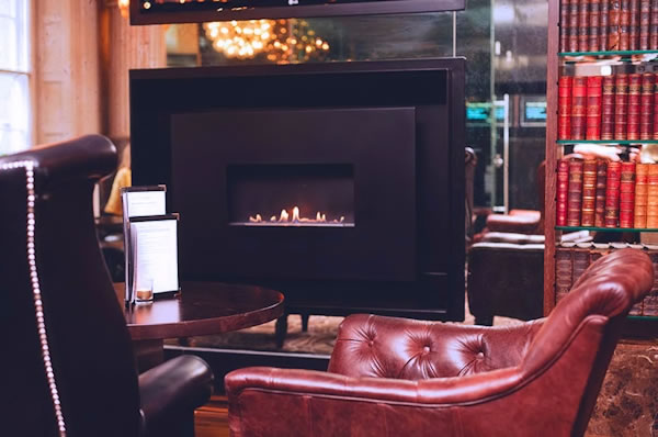 Gas Fire, Le Monde, Edinburgh, EH2 2PF