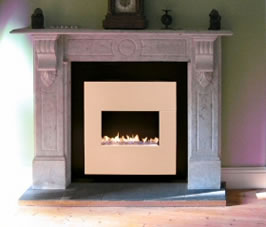 Flueless Gas Fire Installation by Barnaby Reynolds.