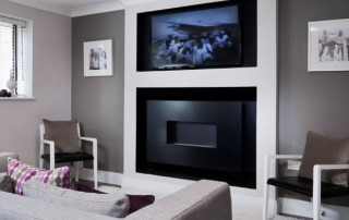 CVO Martin Grant Homes Install Of Wall Gas Fire Flueless
