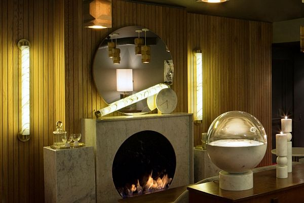 Old Tom And English CVO1000 Bioethanol Fire Installation