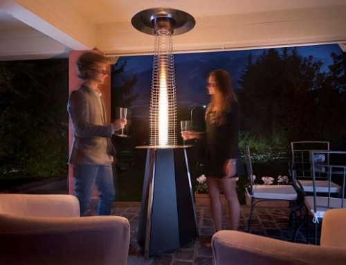 SOLEIL, Gas Patio Heater by SIABS, Italy.