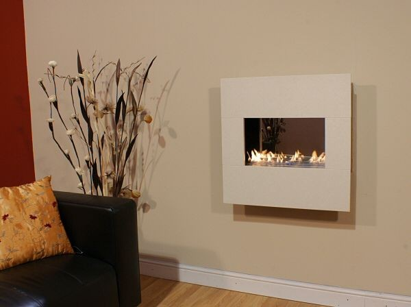 Small Wall Mounted Flueless Gas Fire