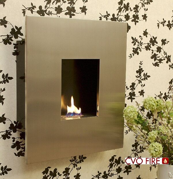 Azar Wall Hung Flueless Fires