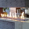 Fire Burner Tray With Living Flame