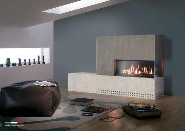 Venezia 90 Right Sided Balanced Flue Fire