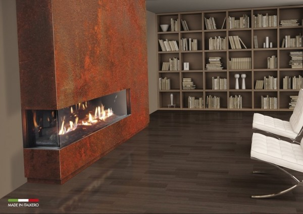 Venezia 90 2 Sided Balanced Flue Gas Fire