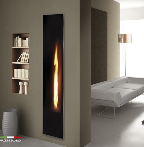 Mirror Flame Fireplace