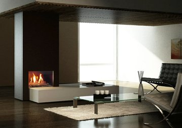 Firenze 70 Balanced Flue Gas Fire Image