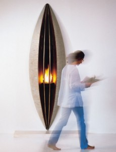 Unique Seed fireplace