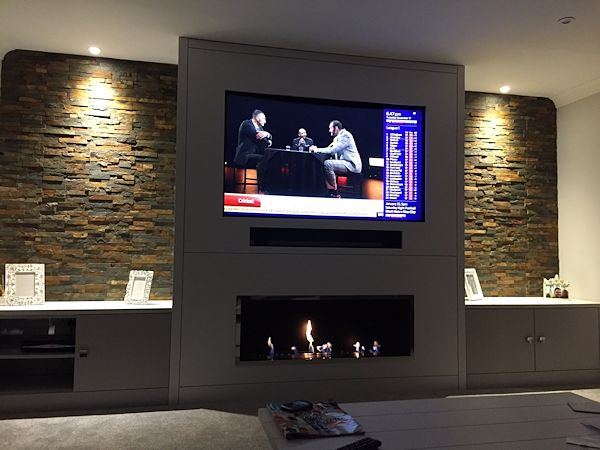 CVO1000 Customer Install With TV Above